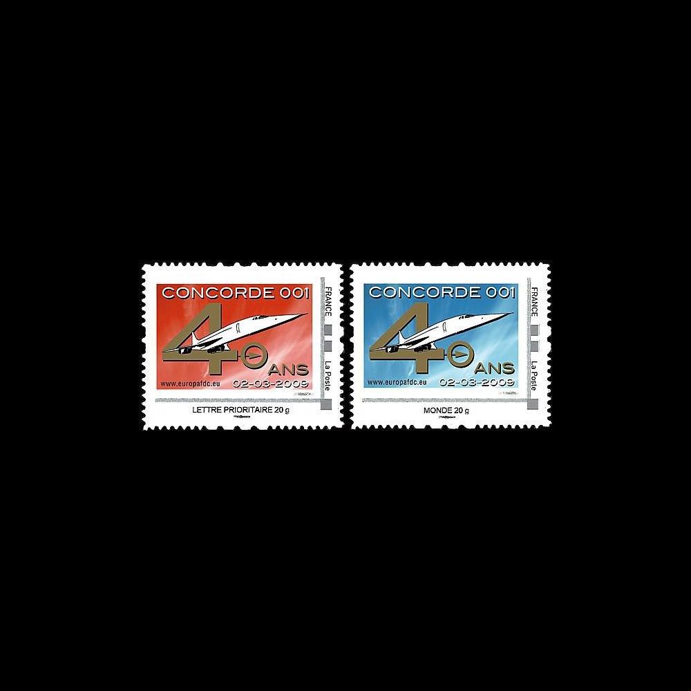 CO-RET40-41N : 2009 : 2 TPP '40 ans 1er vol Concorde 001'