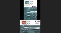 CO-RET40-41C : 2009 : 2 CM '40 ans 1er vol Concorde 001' - Toulouse