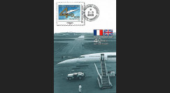 CO-RET41C : 2009 : CM '40 ans 1er vol Concorde 001' - Monde 20g