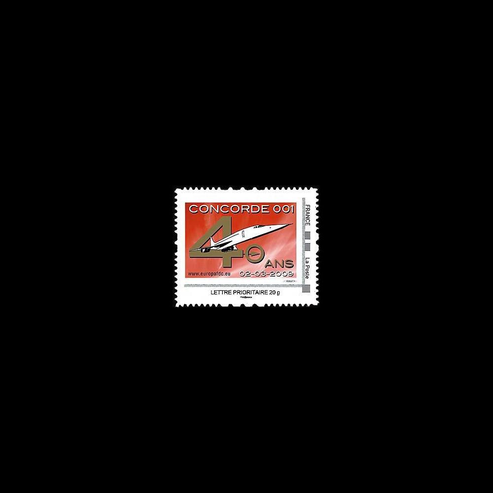CO-RET40N : 2009 : TPP '40 ans 1er vol Concorde 001' - Lettre prio 20g