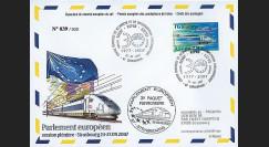 PE543 : 2007 - FDC Parlement européen '3e paquet ferrovière'