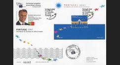 PE543A : 2007 - FDC Portugal 'Présidence portugaise du Conseil de l'UE'