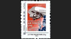 OTAN 09-3N : 2009 - TPP 'Air Force One - Sommet OTAN' - Lettre prio