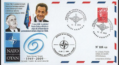 OTAN 09-1 T1 : 2009 - Pli spécial 'Sarkozy - retour de la France dans l'OTAN'