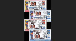 OTAN 09-3-6 : 2009 - 4 plis 'Sommet OTAN - Michelle & Barack Obama' Entzheim