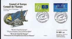 CE60-PJ : 2009 - 1er Jour des TP de service du Conseil de l'Europe