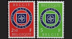 OTAN9N : 1959 - TP Belgique '10 ans OTAN 1949-1959'