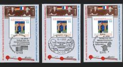 PE460B : 2003 Porte-timbre - 40 ans Traité de l'Elysée