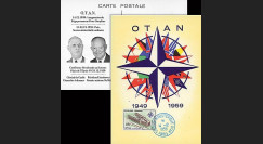 OTAN14-5 : 1959 - CM France '10 ans OTAN - de Gaulle / Eisenhower'