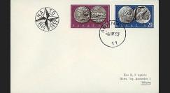 OTAN14G : 1959 - FDC 1er Jour Grèce '10 ans OTAN 1949-1959'