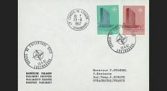 OTAN20EO : 1967 - Env. entête PE - 1er Jour Luxembourg 'Réunion du Conseil de l'OTAN'
