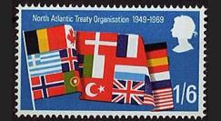OTAN21N : 1969 - TP Grande-Bretagne '20 ans OTAN 1949-1969'