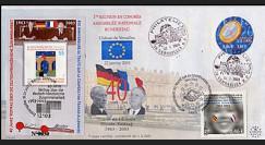 PE460A : 2003 - 40 ans Traité de l'Elysée - de Gaulle et Adenauer