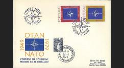 OTAN30-T1 : 1979 - FDC 1er Jour Portugal '30 ans OTAN' - Lisbonne