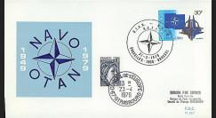OTAN29-T1 : 1979 - FDC 1er Jour Belgique '30 ans OTAN' - Bruxelles