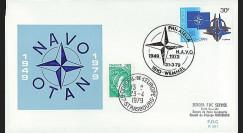 OTAN29-T3 : 1979 - FDC 1er Jour Belgique '30 ans OTAN' - Wemmel