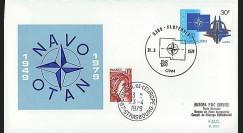 OTAN29-T4 : 1979 - FDC 1er Jour Belgique '30 ans OTAN' - Florennes