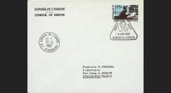 ELDO 3L : 1966 - Env. entête CE ou PE Woomera 'Fusée Europa I vol F6/1'