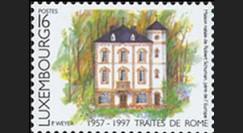 PE338NF : 1957-1997 Timbre signature des Traités de Rome