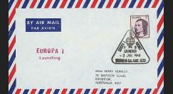 ELDO 6 : 1969 - FDC Woomera 'Fusée Europa I vol F8'