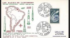 KOUR 1 : 1972 - FDC 'Conférence pays lanceurs