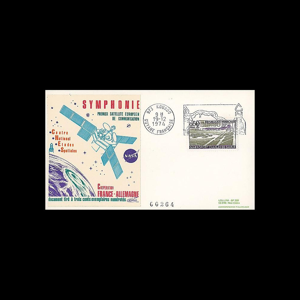 KOUR 3 : 1974 - FDC 'Symphonie