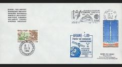 AR 19LB : 1984 - Env. entête Parlement eur. - Paris 'Ariane L09'