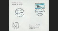FE18EO : 1969 - Env. entête CE 1er Jour '1er vol Concorde 001'
