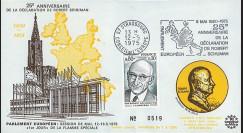 FE29E : (AP124) 1975 - FDC PE 1er Jour TP 'Schuman