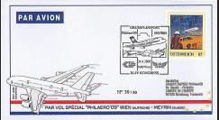 A380-78 : 2009 - Pli vol A380 Austrian Airlines 'PhilAero' 09 Wien'