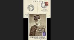W2-FR509-B3 : 1944 - CM  'Buste de face - 88 ans Mal Pétain' YT 509