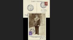 W2-FR509-C3 : 1944 - CM  'Portrait en pied - 88 ans Mal Pétain' YT 509