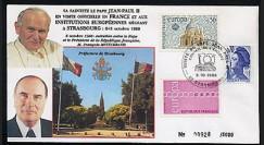 PAP1 type2 : 1988 Entretien Jean-Paul II - Mitterrand