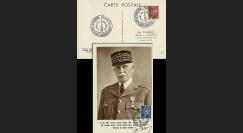 W2-FR510-C5 : 1944 - CM  'Buste de face - 88 ans Mal Pétain' YT 510