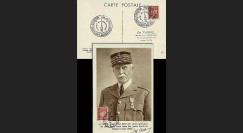 W2-FR515-E5 : 1944 - CM  'Buste de face - 88 ans Mal Pétain' YT 515