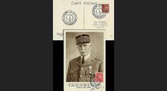 W2-FR514-F4 : 1944 - CM  'Buste de face - 88 ans Mal Pétain' YT 514