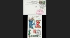 W2-F672-B3 : 1945 - CM 'Mon drapeau - Souvenir Libération' TP YT 672