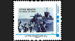 DEB09-2N : 2009 - 1 valeur TPP 'Utah Beach - 65 ans D-Day'