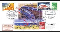 TGV-MED3 : 2001 - Lancement commercial du TGV Méditerrannée