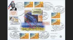 TGV-MED1 : 2001 - Inauguration & Lancement commercial TGV Méditerrannée