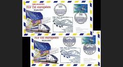 PE539-1-2 : 2007 - 2 plis Mise en service du TGV Est Européen