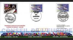 PE539-4 : 2007 Mise en service du TGV Est Européen - Luxembourg