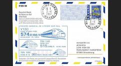 PE539-5 : 2007 - TGV Est Européen - Record de vitesse sur rail