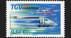 PE539-FN : 2007 - Timbre TGV Est Européen - France