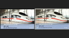 PE539-AN : 2007 - Timbres ICE 3 - Allemagne