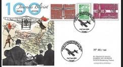 BLE09-1 : 2009 - Pli Centenaire traversée de la Manche - Blériot