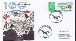 BLE09-1A : 2009 - Pli Centenaire traversée de la Manche - Blériot