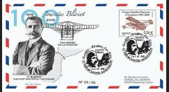 BLE09-2 : 2009 - Pli Centenaire traversée de la Manche - Blériot