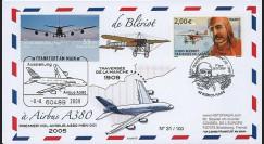 BLE09-4 : 2009 - Pli 'de Blériot à l'A380' France - Allemagne