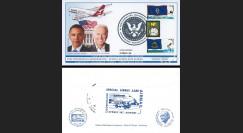 A380-76T3 Pli USA 'Vol QANTAS Washington-LA-Sydney / Investiture Obama & Biden' 2009